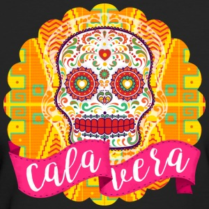 Mexican Sugar Skull of the Day of the Dead - Women's Organic T-shirt