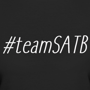 #teamSATB - Frauen Bio-T-Shirt