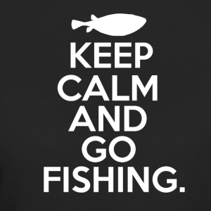 Keep Calm - Go Fishing - Frauen Bio-T-Shirt
