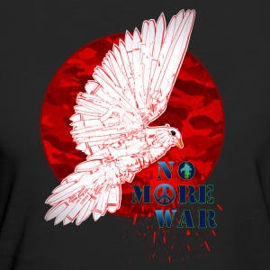 No More War Now - T-shirt ecologica da donna