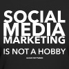 SMM IS NOT A HOBBY - Frauen Bio-T-Shirt