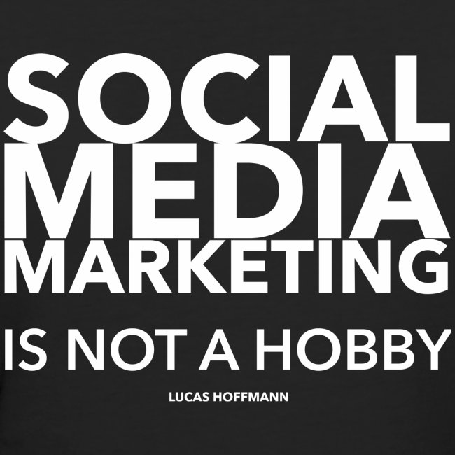 SMM IS NOT A HOBBY