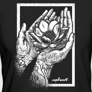 Lotus Hands - Women's Organic T-shirt