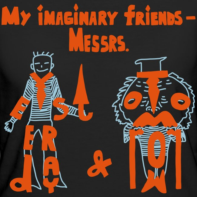 My imaginary friends T-shirt