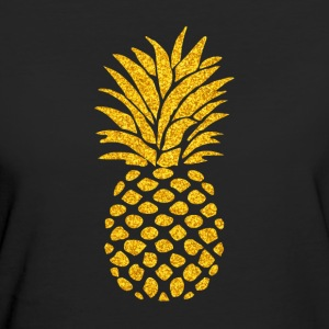 Pineapple Summer Vibe - Ekologisk T-shirt dam