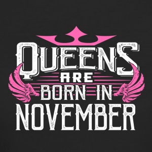 Queens are born in November - Women's Organic T-shirt