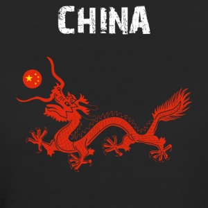 Nation-Design China Dragon - T-shirt Bio Femme