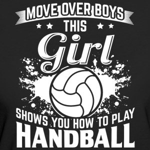 handbal MOVE OVER boys - Vrouwen Bio-T-shirt