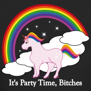 Party Time Unicorn - Vrouwen Bio-T-shirt