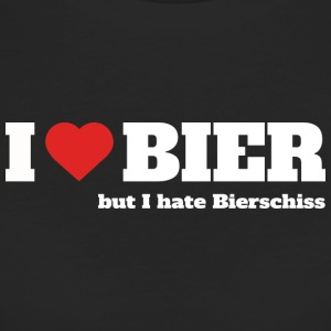 I love Bier, but I hate Bierschiss - Frauen Bio-T-Shirt