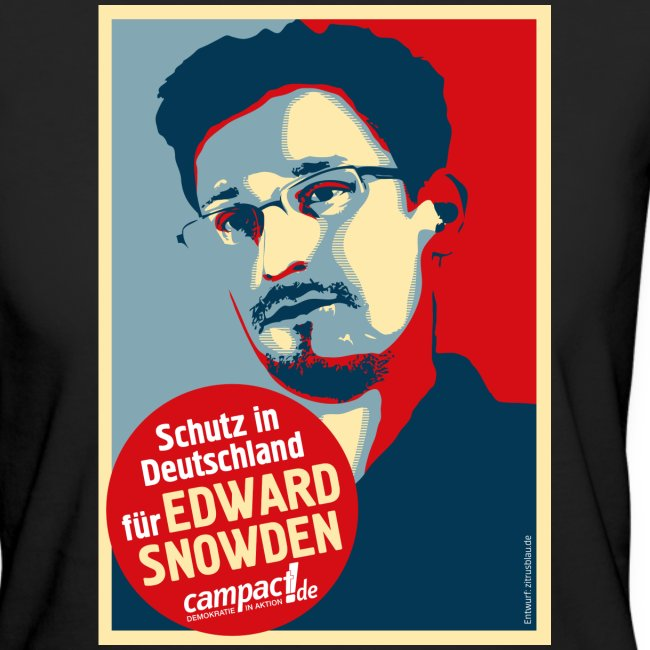 Motiv Snowden Obama SPREADSHIRT 01 jpg
