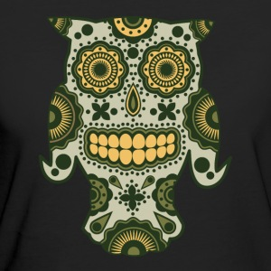 Magic Forest Sugar Skull - Økologisk T-skjorte for kvinner