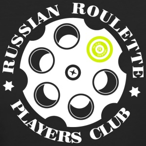 Russian Roulette Players Club logo 4 Noir - T-shirt Bio Femme