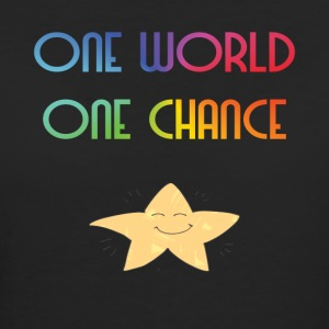 One World One Chance - Vrouwen Bio-T-shirt