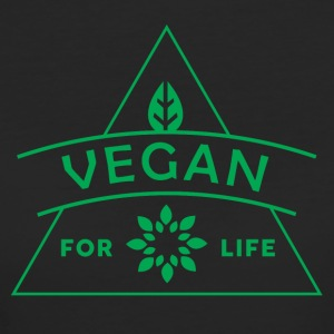 VEGAN FOR LIFE - Women's Organic T-shirt