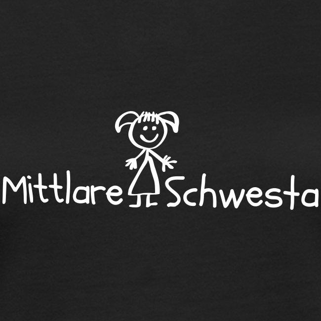 Vorschau: Mittlare Schwesta - Frauen Bio-T-Shirt