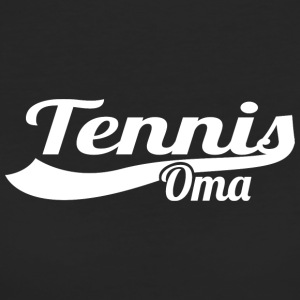 Tennis Oma - Frauen Bio-T-Shirt