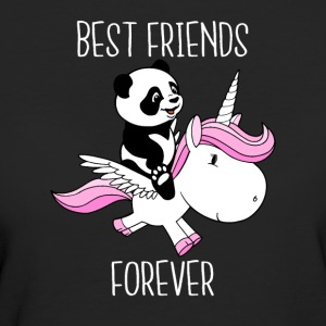 Best Friends Forever - T-shirt ecologica da donna