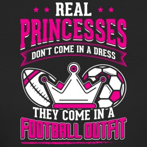 REAL PRINCESSES football 1 - Frauen Bio-T-Shirt