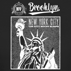 New York · Brooklyn - Økologisk T-skjorte for kvinner