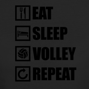 EAT SLEEP VOLLEY REPEAT - Women's Organic T-shirt