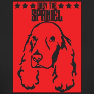 Hund / Cocker Spaniel: Obey The Spaniel - Frauen Bio-T-Shirt