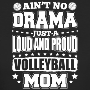 AINT NO DRAMA VOLLEYBALL MOM - Women's Organic T-shirt