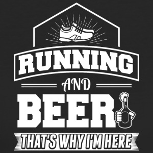 Running AND BEER - Women's Organic T-shirt