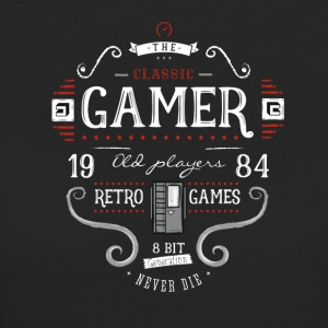 retro game nerd it geek play 1984 8bit console lol - Frauen Bio-T-Shirt