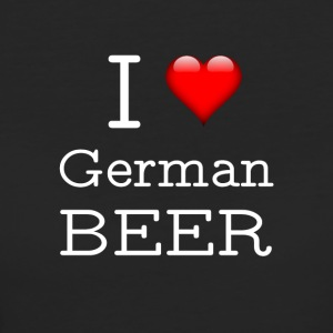 I Love German Beer - Women's Organic T-shirt