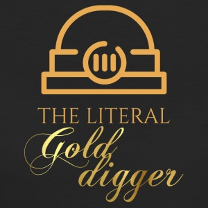 Mining: The literal Gold Digger - Women's Organic T-shirt