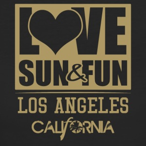 Love, Sun & Fun · Los Angeles · Kalifornien - Ekologisk T-shirt dam