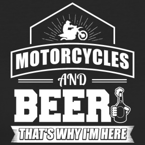 Motorcycles AND BEER - Women's Organic T-shirt