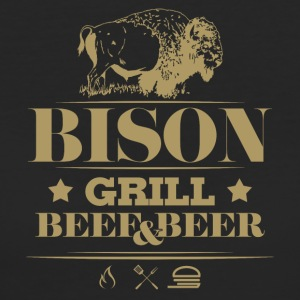 Grill Barbecue · · Bison - T-shirt ecologica da donna