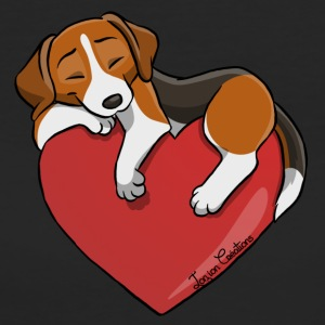 Beagle Heart - Women's Organic T-shirt