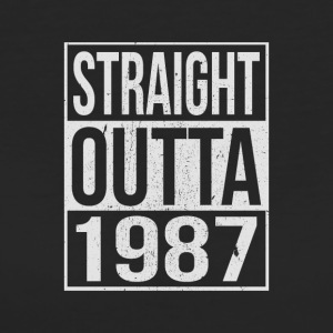 Straight outta - 1987 - Frauen Bio-T-Shirt