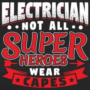 IKKE ALLE super helte WEAR CAPES - ELEKTRIKER - Organic damer