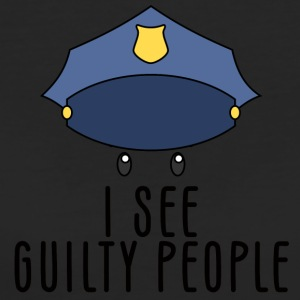 Polizei: I see guilty people - Frauen Bio-T-Shirt