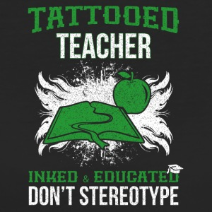 TATTOOED TEACHER - Frauen Bio-T-Shirt
