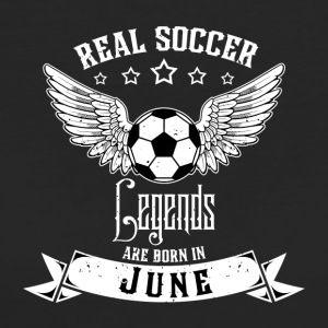 Soccer Legends! Birthday Birthday! June June - Women's Organic T-shirt