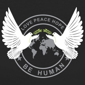Love Peace Hope - Ekologisk T-shirt dam
