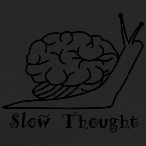 slow Thought - Vrouwen Bio-T-shirt