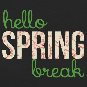 Spring Break / Spring Break: Ciao Spring Break - T-shirt ecologica da donna