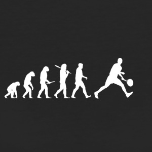 Evolution Tennis! lustig! - Frauen Bio-T-Shirt
