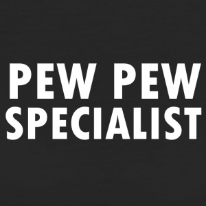 Pew Pew Specialist - T-shirt ecologica da donna