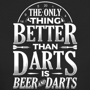 DART THE ONLY THING BETTER THAN DARTS BEER - Frauen Bio-T-Shirt