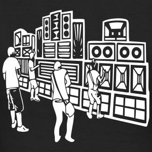 008 soundsystem 23 - Frauen Bio-T-Shirt