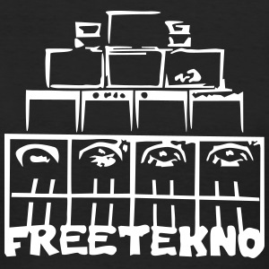 FREETEKNO SOUND SYSTEM - Women's Organic T-shirt