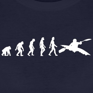 The Evolution Of Kayaking - Women's Organic T-shirt