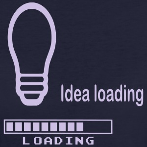 Idea Loading - Frauen Bio-T-Shirt